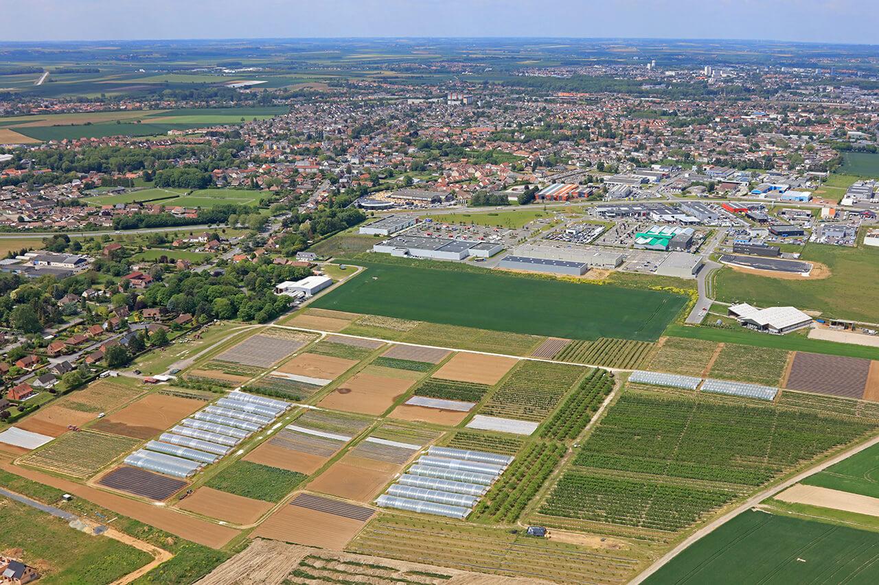 Ferme périurbaine de Beaurains dans le Pas-de-Calais (Altimage)